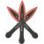 Wurfmesser red tip 3. tlg.