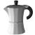 3 Tassen Kaffee Kocher alu-weiß - diverse Farben