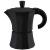 6 Tassen Kaffee Kocher alu-schwarz - diverse Farben